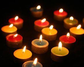 Significado de las velas según su color