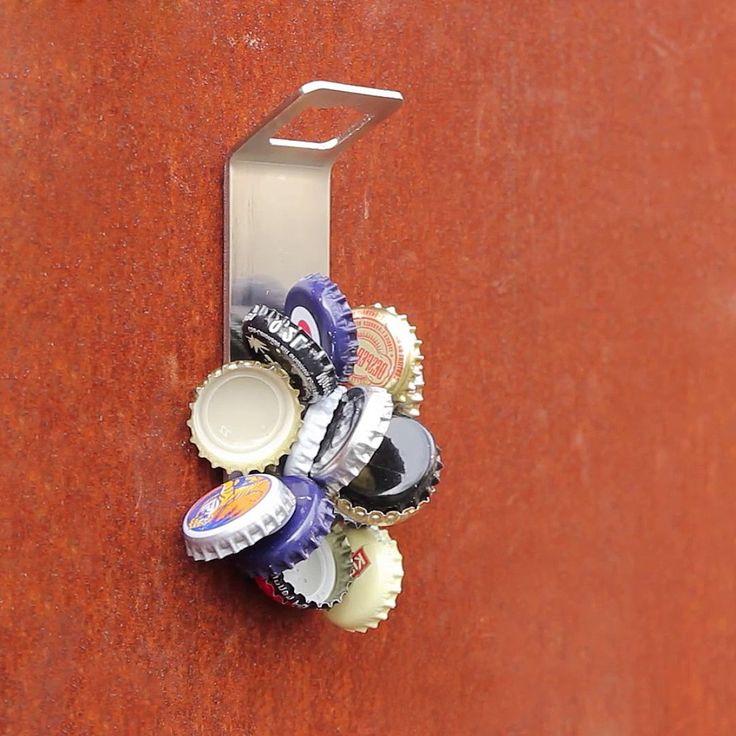 Wall Mounted Magnetic Bottle Opener  https://amazingmusthaves.com/products/wall-mounted-magnetic-bottle-opener/