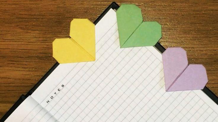 Оригами закладки для книг (две схемы)