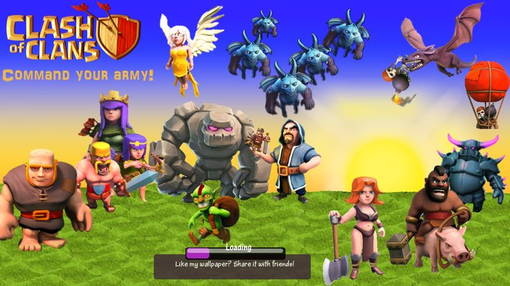 Image for Free Clash Of Clans Cool Background