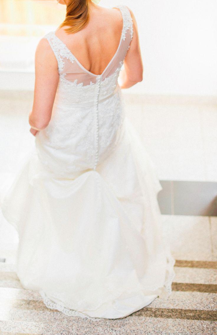 Lovely dress photographed by Joanna Zawislan | Elite Wedding www.elitewedding.pl