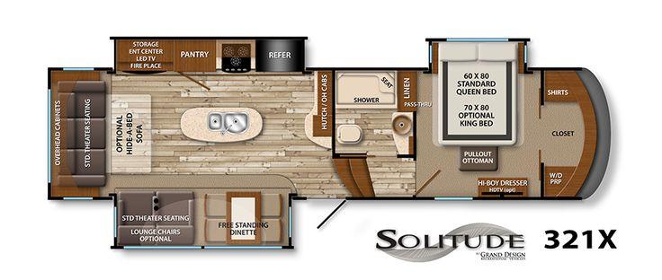 23 best loving that 5th wheel images on pinterest 5th - Grand design solitude floor plans ...