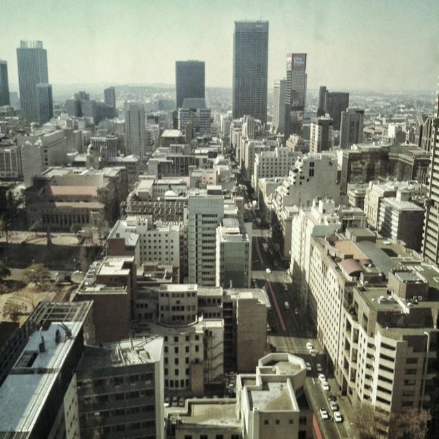 Johannesburg!