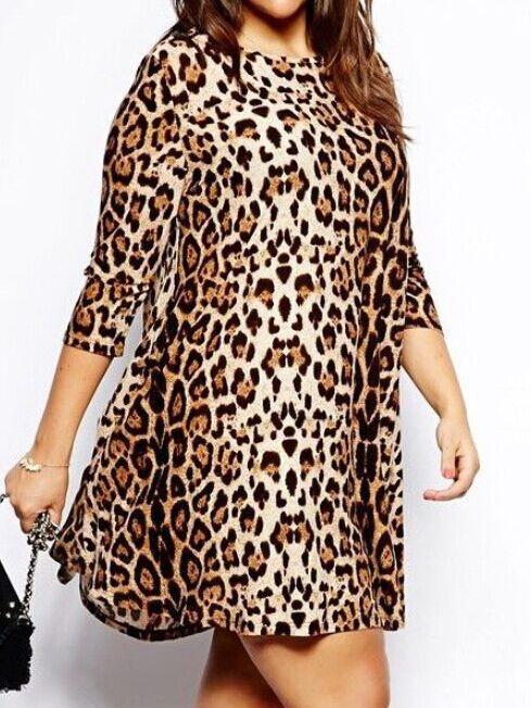 purse buy online Long Sleeve Leopard Shift Dress