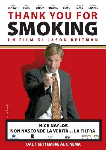 Thank you for smoking (obrigado  por fumar) diferenças entre debate e negociação, o poder da palavra e argumentação. Um filme pra ver e rever. (2ª vez q vi)
