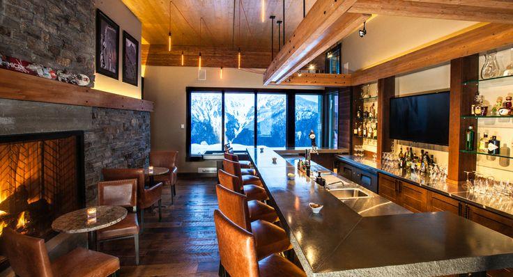 Mica Heli Ski Lodge  BAR « CEI Architecture Planning Interiors