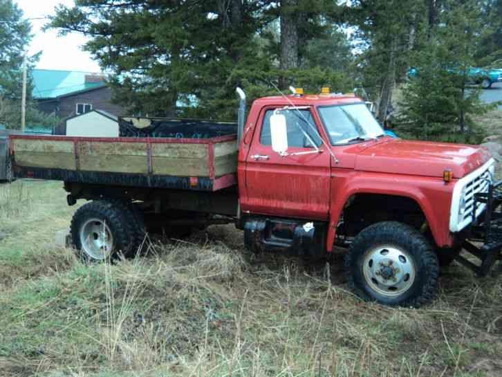 Plow Trucks For Sale >> Ford F600 (1978) | Classic ford trucks, Pickup trucks ...