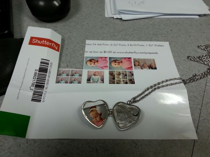 Locket pictures - use the recap pictures that Walgreens ...