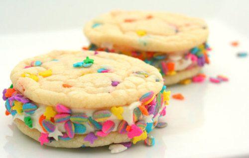 sandwiches ice cream sandwiches ice cream cookie sandwich confetti ...