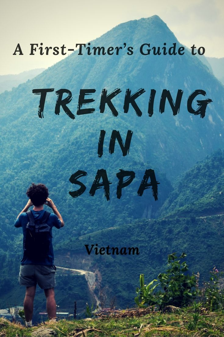 "Here is everything you need to know about trekking in Sapa, Vietnam. It is such a stunning area and should not missed on your ""places to go in Vietnam"" list. Hiking in Sapa is something everyone should do of all ages when visiting Vietnam. #trekkingvietnam #vietnam #travelguide"