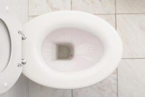 A clean stain-free toilet bowl is important to a sanitary bathroom.