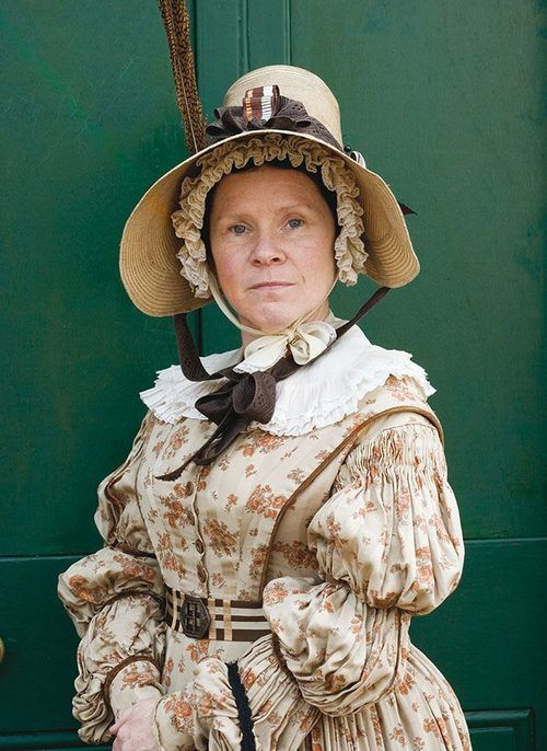 Imelda Staunton (as Miss Pole in Cranford ), whom I see as the person who runs the household more or less as Madama Perradon.
