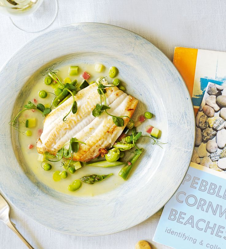 Rick Stein's beautifully light lemon sole recipe is packed with summery, fresh flavours. It can also be made with turbot.