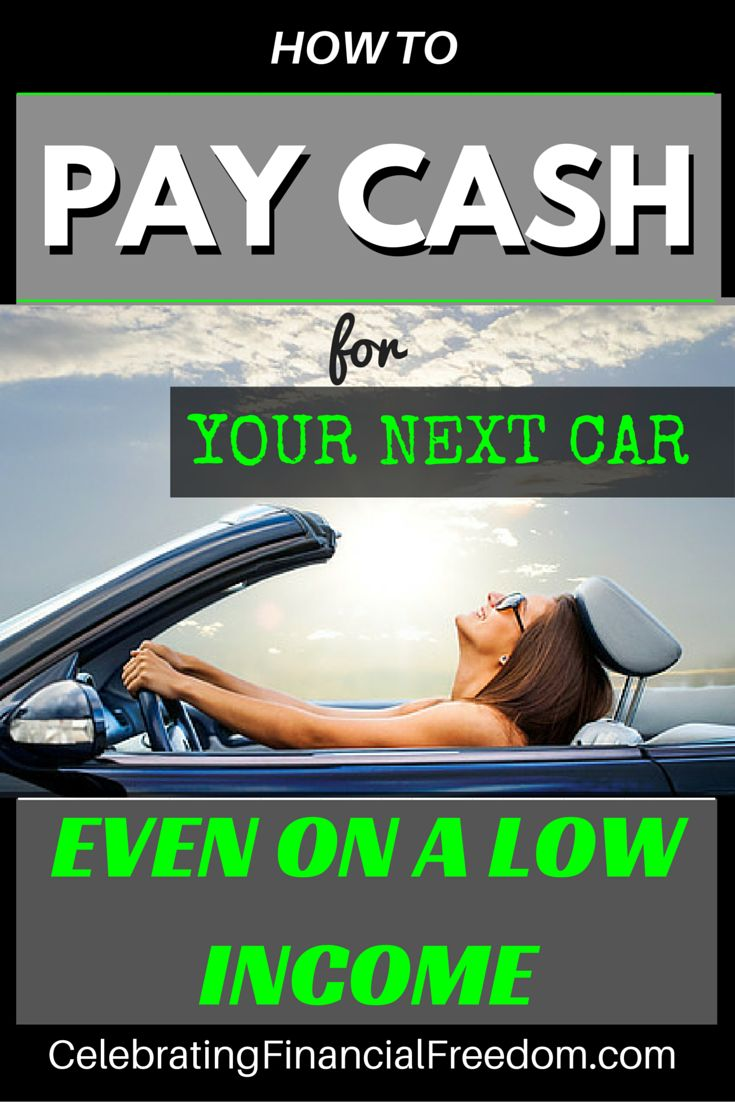 how to get a car loan with low income