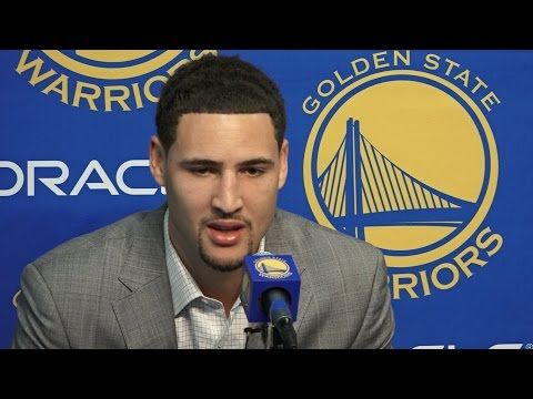 Klay Talks Contract Extension - YouTube