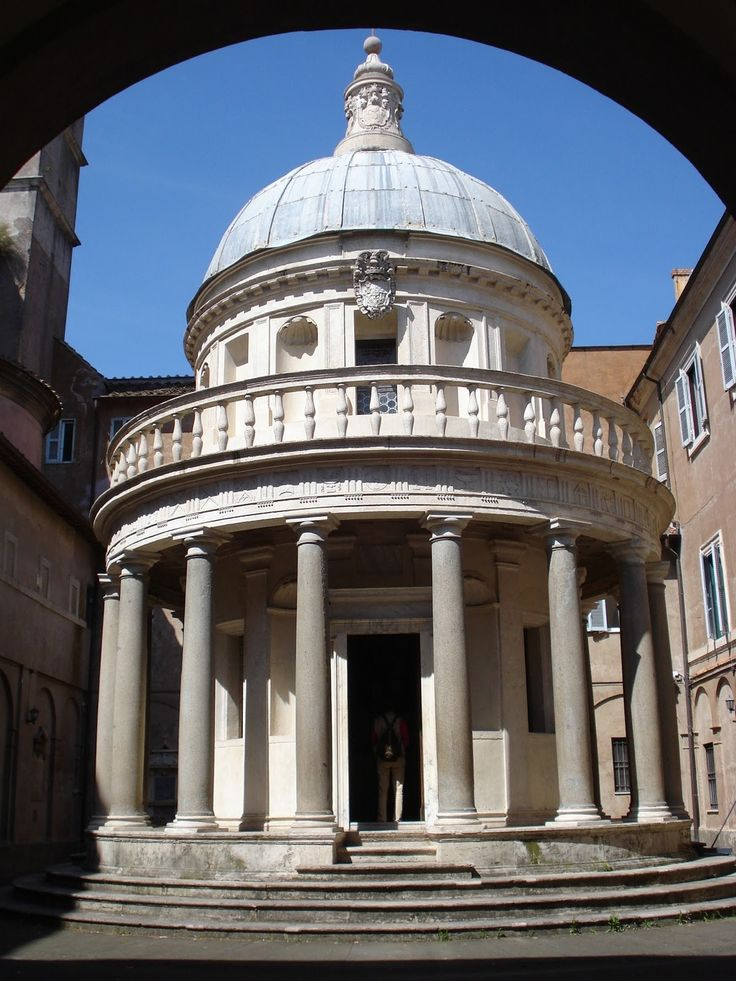bramante and high renaissance Donato bramante: donato bramante, architect who introduced the high renaissance style in architecture his early works in milan included the rectory of sant.