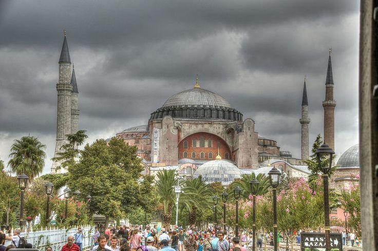 Hagia Sofia  Turkey, Istanbul #mosque #istanbul #constantinople