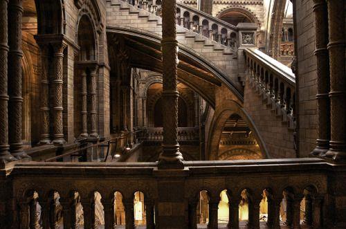 El Museo de Historia Natural en Londres.