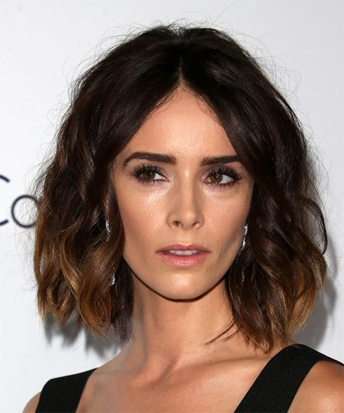 Abigail Spencer Medium Wavy Hairstyle. Try on this hairstyle and view styling steps! http://www.thehairstyler.com/hairstyles/casual/medium/wavy/Abigail-Spencer-wavy-easy-hairstyle