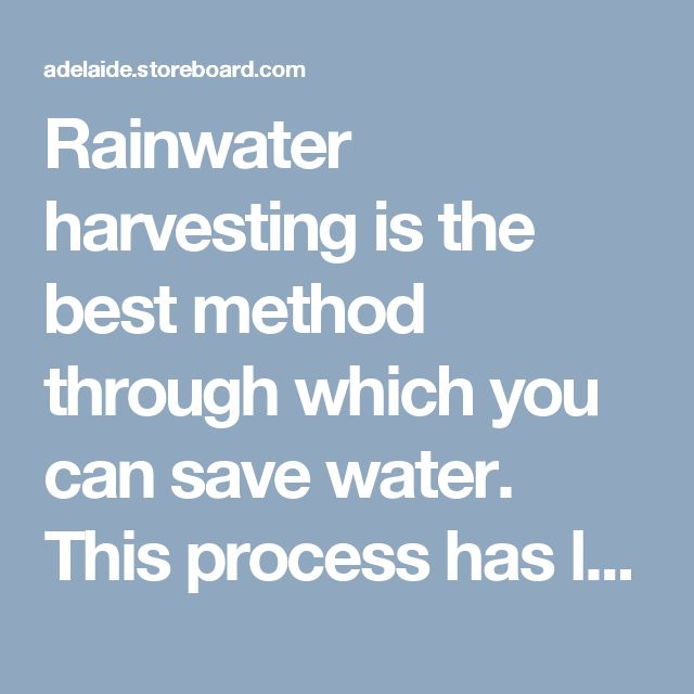 Rainwater harvesting is the best method through which you can save water. This process has lot of benefits for both environment and individuals. This process allows users to collect rainwater that falls on hard surfaces, roofs and store it for later use instead of being waste