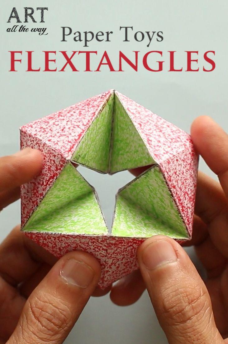 Paper Toy Flextangles : https://goo.gl/Gv1d8m