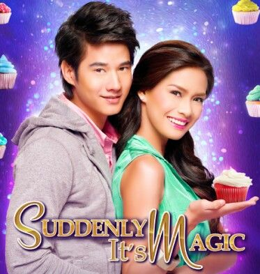 Erich Gonzales & Thai actor Mario Maurer for the movie Suddenly Its Magic