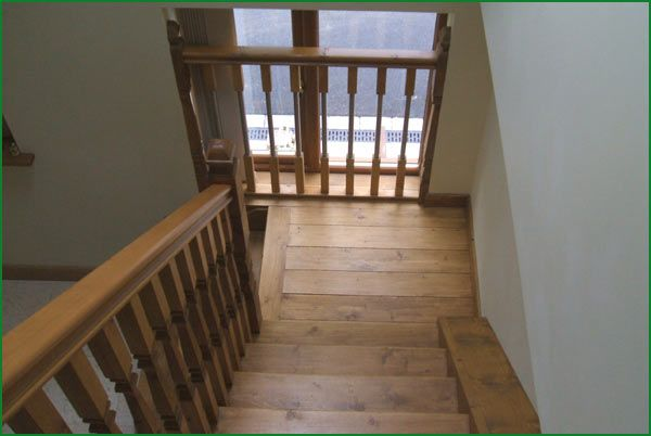 Berriew Provincial Softwood Staircase