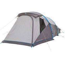 Bergsport_Zelte Camping (QUECHUA) - Aufblasbares Zelt Air Seconds Family 4, 4 Personen, grau  QUECHUA - Zelte
