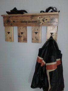 wieszak drewniany europaleta harley