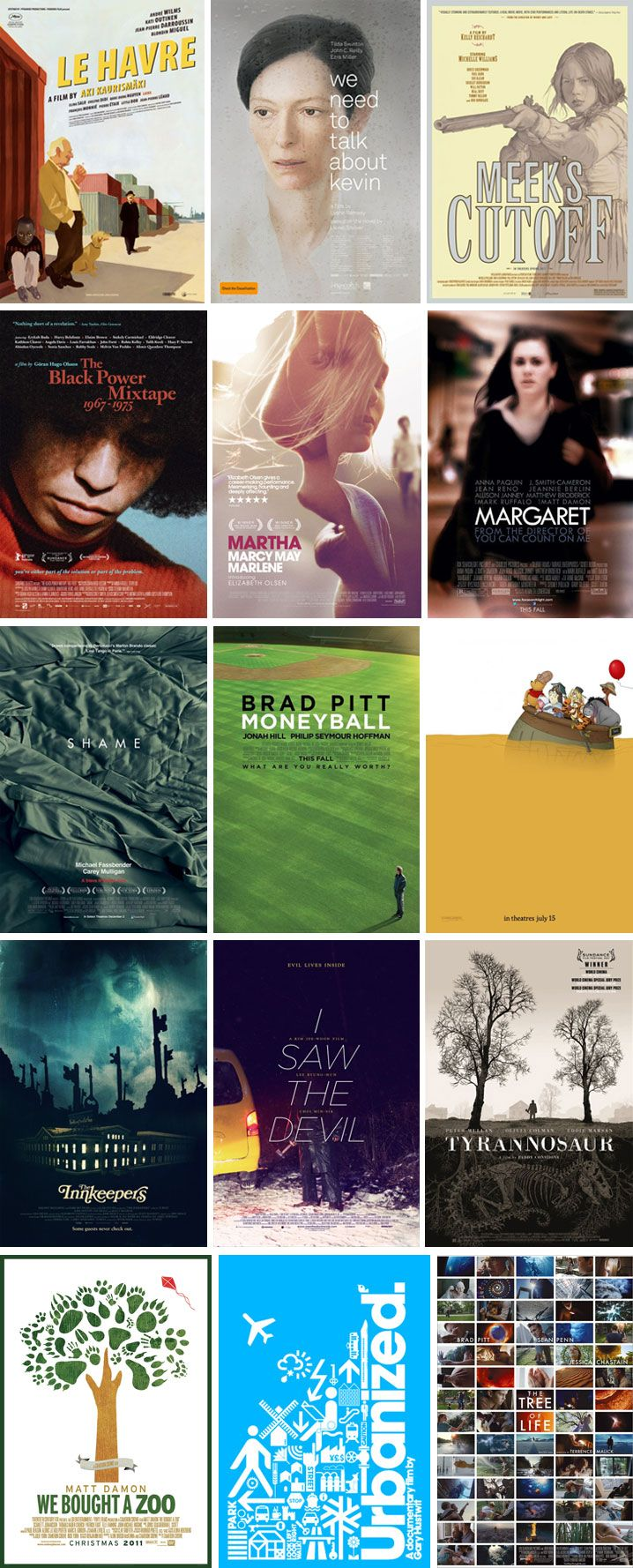 Movie Posters of 2011
