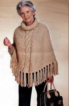 Ponchos y chales - Mundial de tejido y artesanías