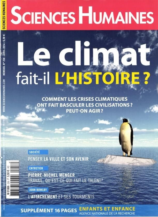Sciences humaines n°258 d'avril 2014.