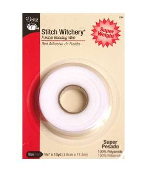I just made three sets of curtains for my kitchen using stitch witchery--and I never had to sew  a stitch!