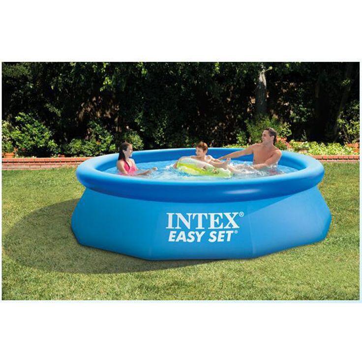 244 cm 76 cm INTEX blu AGP fuori terra piscina di famiglia