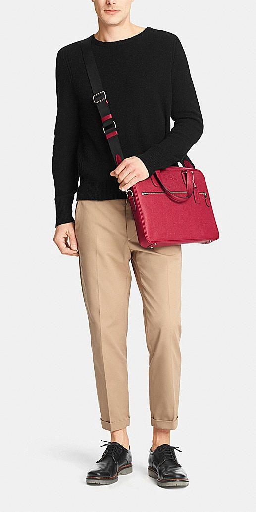 Coach Hudson 5 Bag in Crossgrain Leather