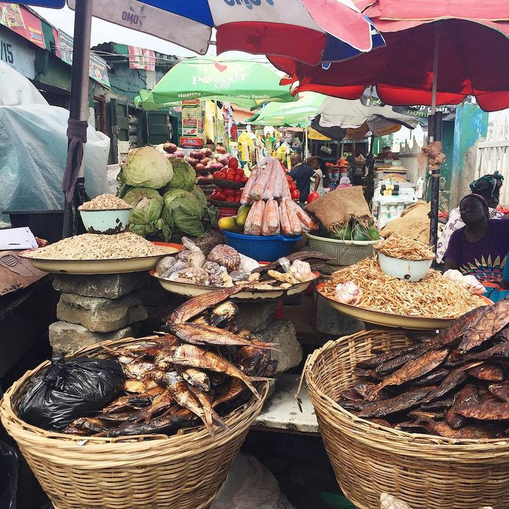 Before the egusi soup is the market wahala