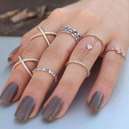 Love all my rings, but I need a new shade of gray.......