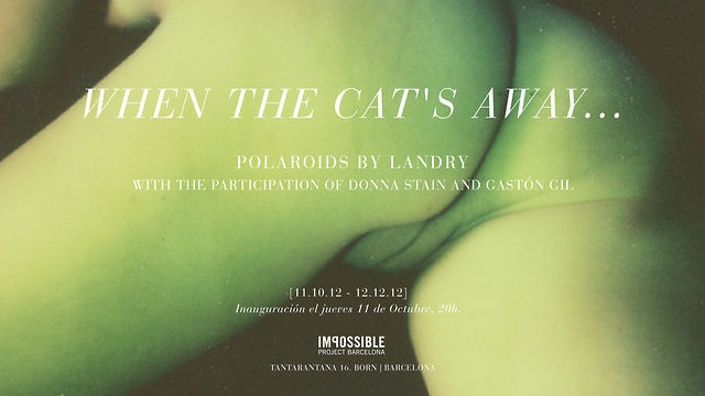 Landry | Polaroids | Few days before the exhibition at Impossible Project Barcelona #polaroid