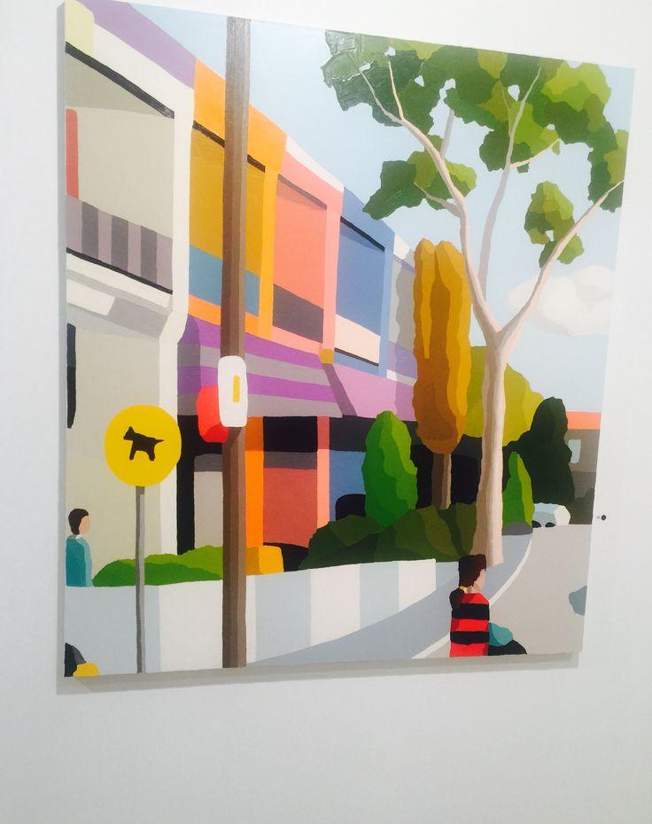 Michael Muir @ Martin Brown contemporary art show