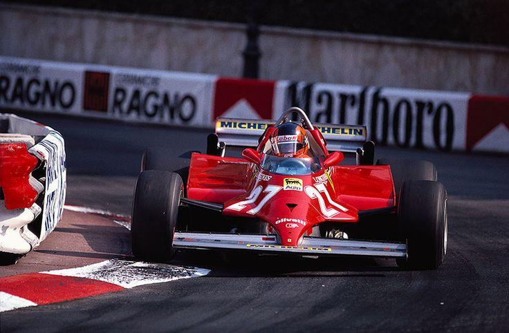 Gilles Villeneuve - Monaco, 1981 -Ferrari