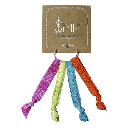 Simbi Haiti Hair ties now have exclusive colors and designs at Target! Portions of the proceeds go to providing clean water in Haiti. Check them out!
