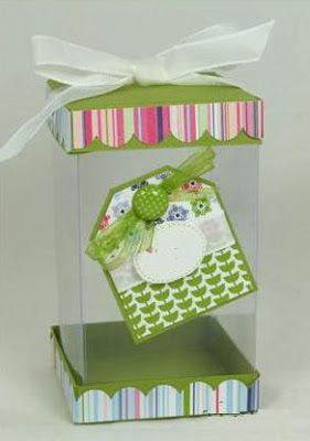 tutorial para hacer cajas de acetato..especial para un recuerdo o un souvenirs..!