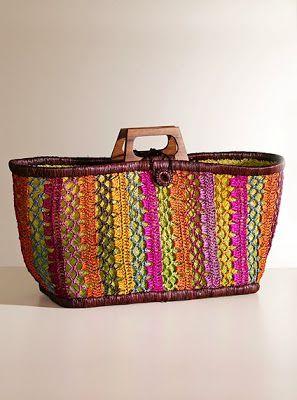 Groovy Crochet Handbag: Inspiration!