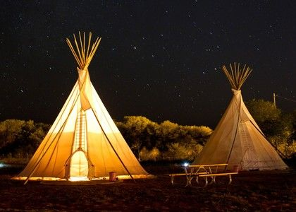 Really want to take my kids to stay overnight in a teepee! el cosmico | marfa, tx