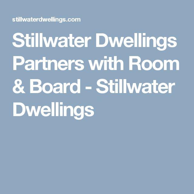 Stillwater Dwellings Partners with Room & Board - Stillwater Dwellings