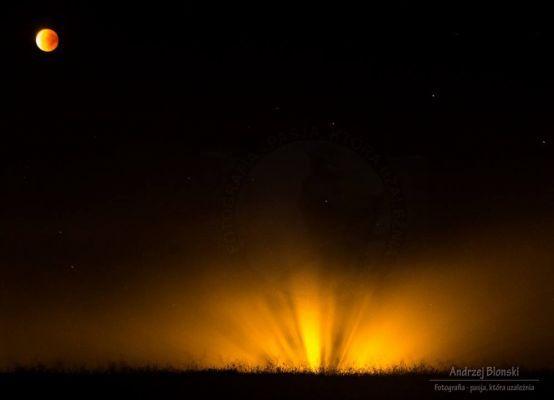 Superksiężyc – tak wyglądał u nas [ZDJĘCIA] fot. Andrzej Błoński
