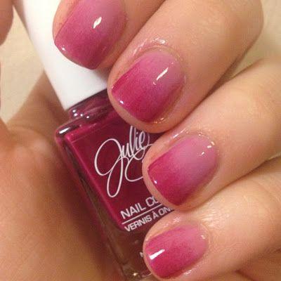 Pink Gradient Nails!