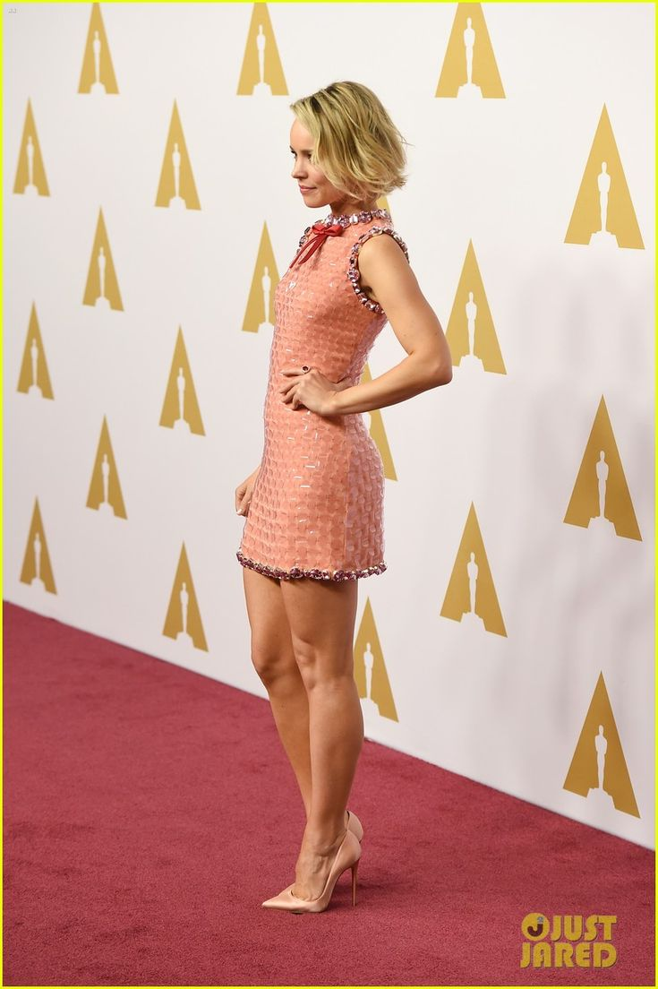 Ranchel McAdams wearing a Little dress and pointed toe heels. Beauty on High Heels #Fashion