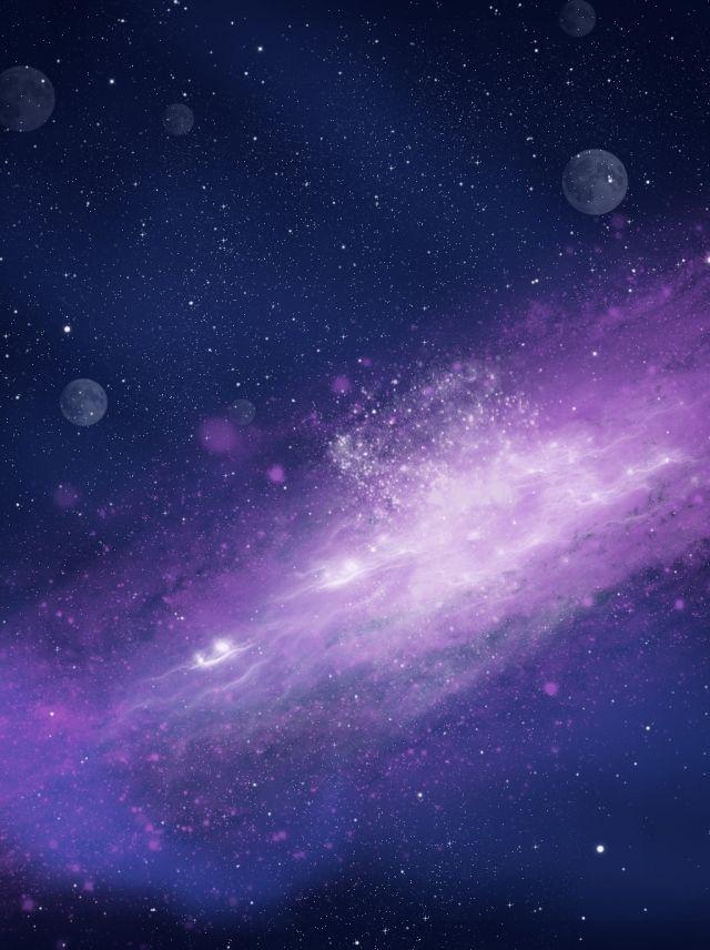 핑크 로맨틱 천구 배경 그림 Galaxy Background Star Background Space Backgrounds