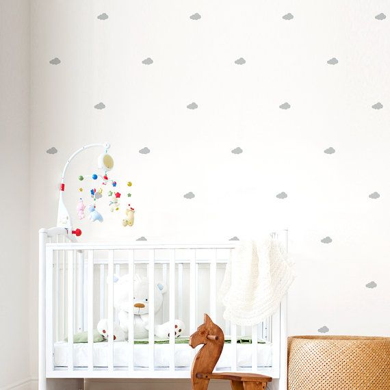 Mini Clouds Wall Decals Cloud Wall Decal by WallumsWallDecals